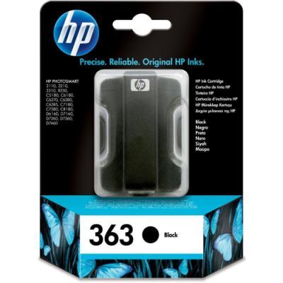 Inkoustová náplň HP 363 (C8721EE) černá