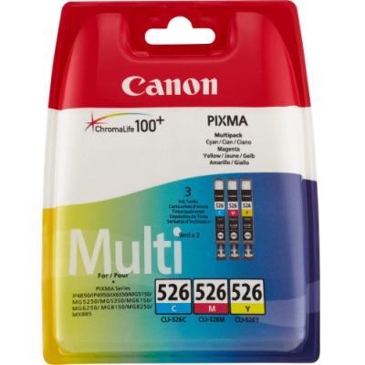 Inkoustová náplň Canon CLI-526 CMY