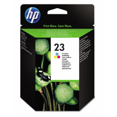 Inkoustová náplň HP 23 (C1823D) CMY