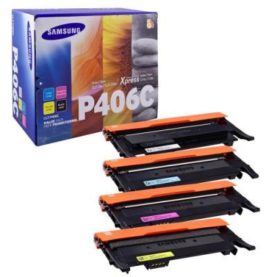 Toner Samsung CLT-P406C multipack