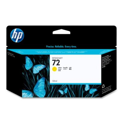 Inkoustová náplň HP 72 (C9373A) žlutá