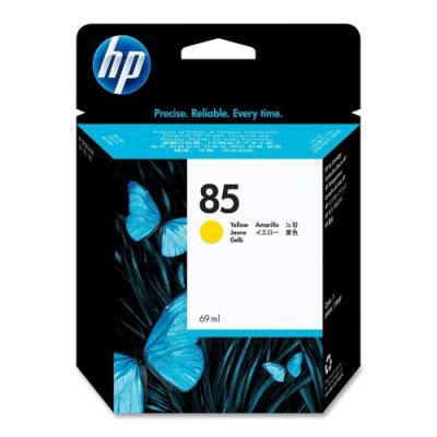 Inkoustová náplň HP 85 (C9427A) žlutá