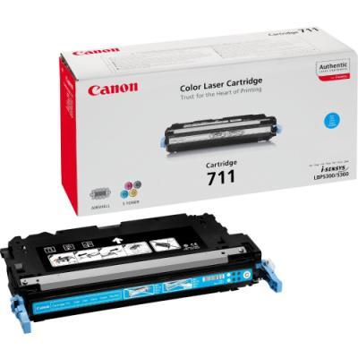 Toner Canon 711C modrý