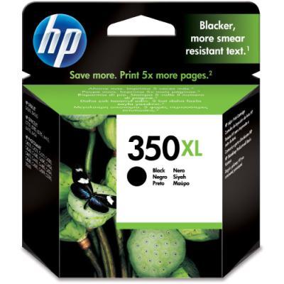 Inkoustová náplň HP 350XL (CB336EE) černá
