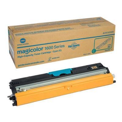 Toner Konica Minolta A0V30HH (A0V3) modrý