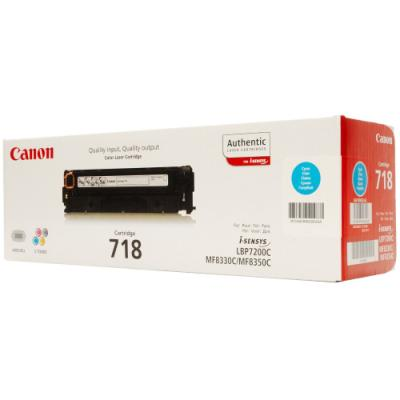 Toner Canon 718 C modrý