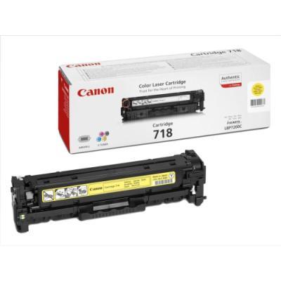 Toner Canon 718 Y žlutý