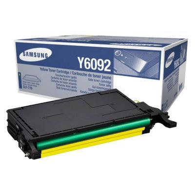 Toner Samsung CLT-Y6092S žlutý