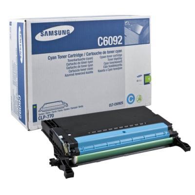 Toner Samsung CLT-C6092S azurový