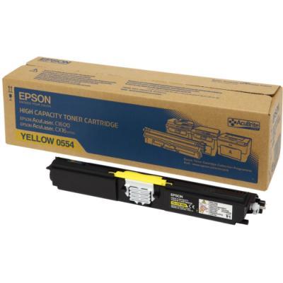 Toner Epson 0554 žlutý