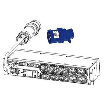 Měřený rozvaděč Eaton IEC ePDU EMIH06