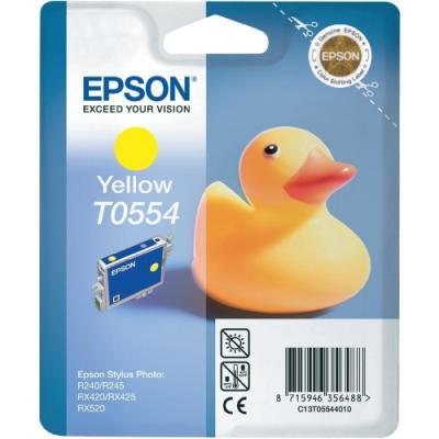 Inkoustová náplň Epson T0554 žlutá