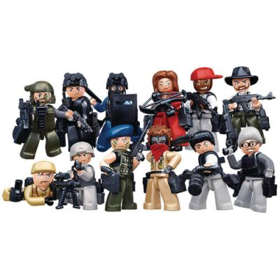 Stavebnice Sluban minifigurky Police