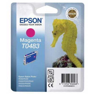 Inkoustová náplň Epson T0483 červená