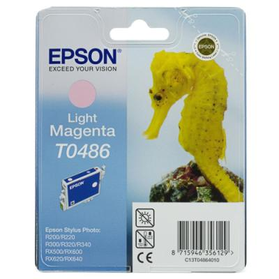 Inkoustová náplň Epson T0486 světlá červená