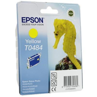 Inkoustová náplň Epson T0484 žlutá