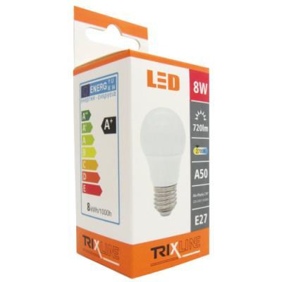 LED žárovka BC TRIXLINE A50 8 W