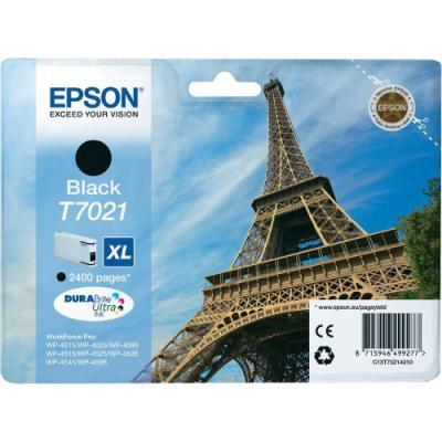 Inkoustová náplň Epson T7021 černá