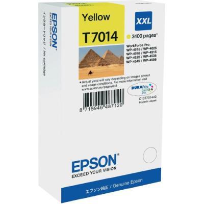 Inkoustová náplň Epson T7014 žlutá