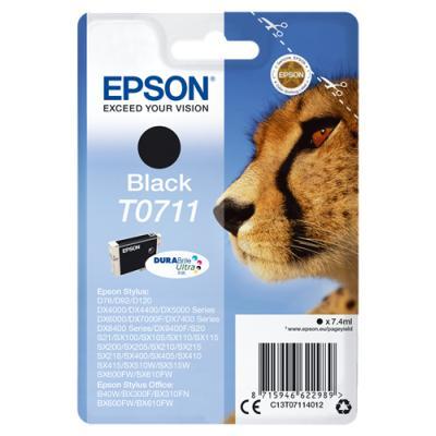 Inkoustová náplň Epson T0711 černá