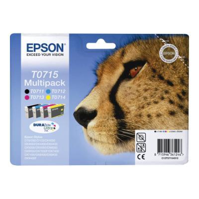 Inkoustová náplň Epson T0715 CMYK