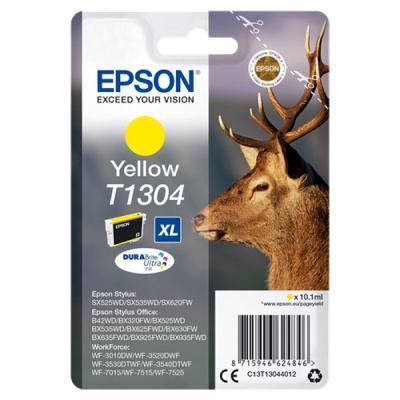 Inkoustová náplň Epson T1304 žlutá