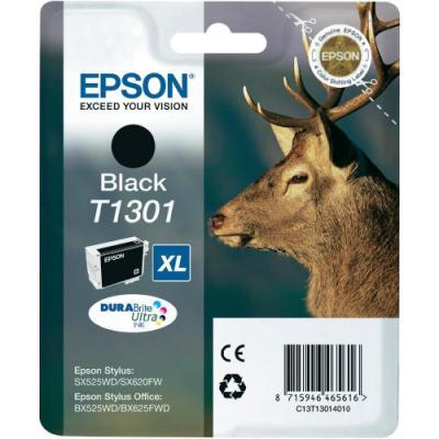 Inkoustová náplň Epson T1301 černá
