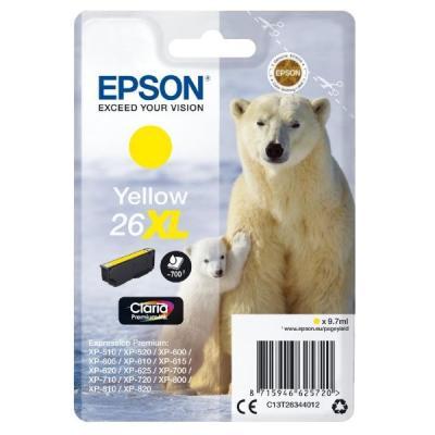 Inkoustová náplň Epson T2634 žlutá