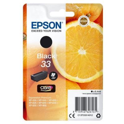 Inkoustová náplň Epson T3331 černá
