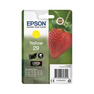 Inkoustová náplň Epson T2984 žlutá