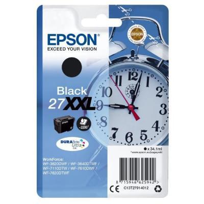 Inkoustová náplň Epson T2791 černá