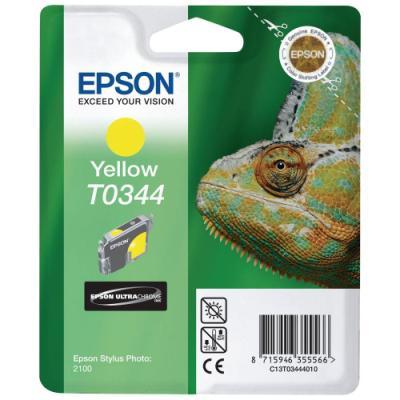 Inkoustová náplň Epson T0344 žlutá