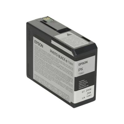 Inkoustová náplň Epson T5801 foto černá