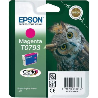 Inkoustová náplň Epson T0793 červená