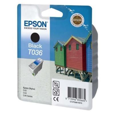 Inkoustová náplň Epson T0361 černá