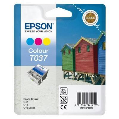 Inkoustová náplň Epson T0370 CMY