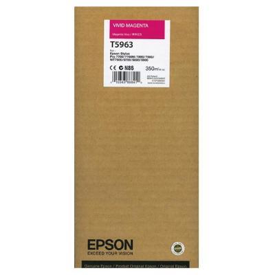 Inkoustová náplň Epson T5963 jasná červená