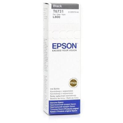 Inkoustová náplň Epson T6731 černá