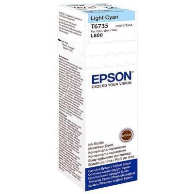 Inkoustová náplň Epson T6735 světle modrá