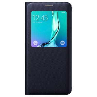 Pouzdro Samsung S-View pro Galaxy S6 Edge+ modré