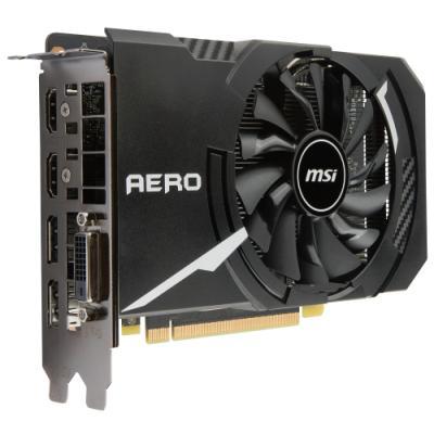 Grafická karta MSI GeForce GTX 1060 AERO ITX 6G OC