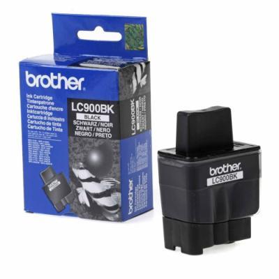 Inkoustová náplň Brother LC900BK černá