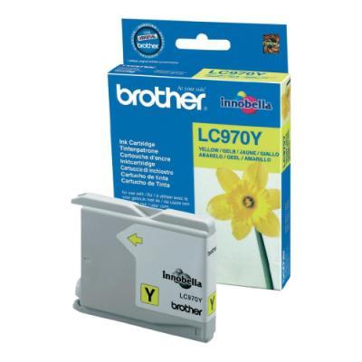 Inkoustová náplň Brother LC970Y žlutá