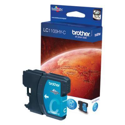 Inkoustová náplň Brother LC1102HY-C modrá