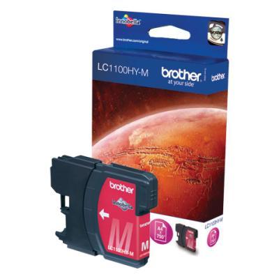 Inkoustová náplň Brother LC1103HY-M červená