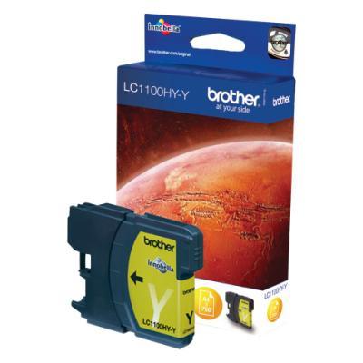 Inkoustová náplň Brother LC1104HY-Y žlutá