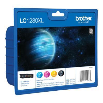 Inkoustová náplň Brother LC1280XL CMYK