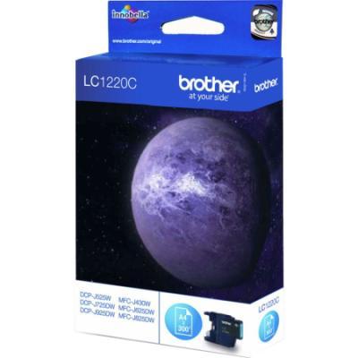 Inkoustová náplň Brother LC1220C modrá