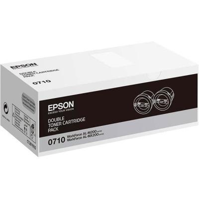Toner Epson 0710 dvojpack černý