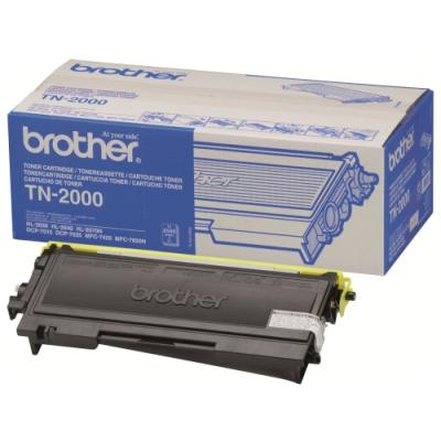 Toner Brother TN-2000 černý